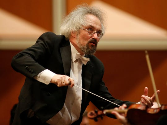 Guest conductor Carlos Kalmar leads the Milwaukee Symphony