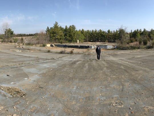 A panoramic view of the former Starwood Amphitheater