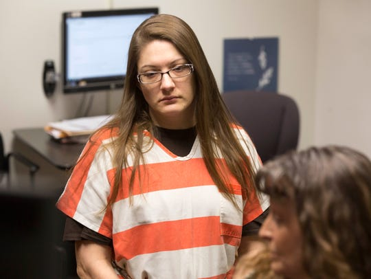 Nicole Finn faced a judge at the Polk County Jail Monday