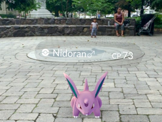 Pokemon Go nidoran