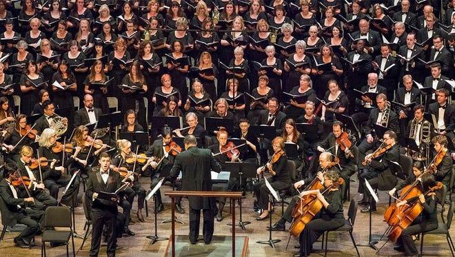 The Tallahassee Community Chorus in its 2017-2018 season opener.