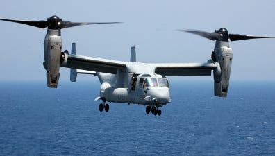 An MV-22 Osprey