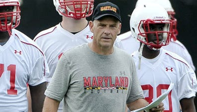 Former Maryland offensive coordinator Gary Crowton is running Southern Utah's offense this season.