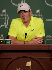 Rory McIlroy, the world's top player, is looking for