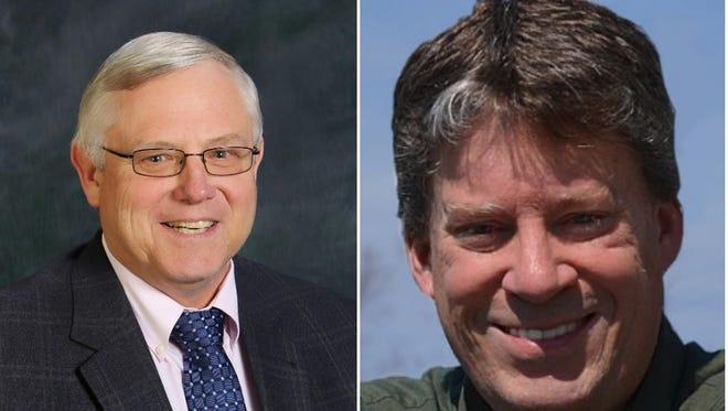 Jack Moore and Steve Schultz, candidates for Henrietta supervisor.