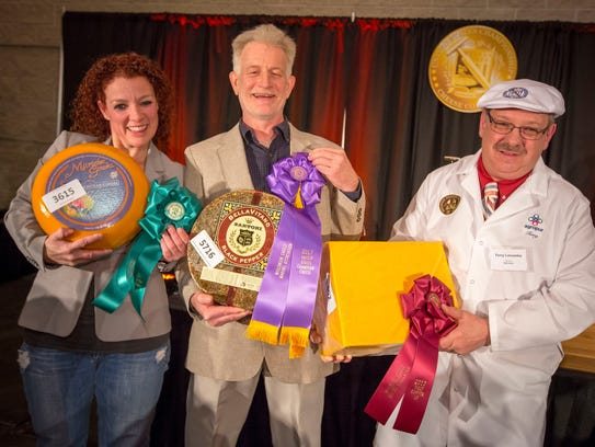 The U.S. Championship Cheese Contest occurs in odd-numbered
