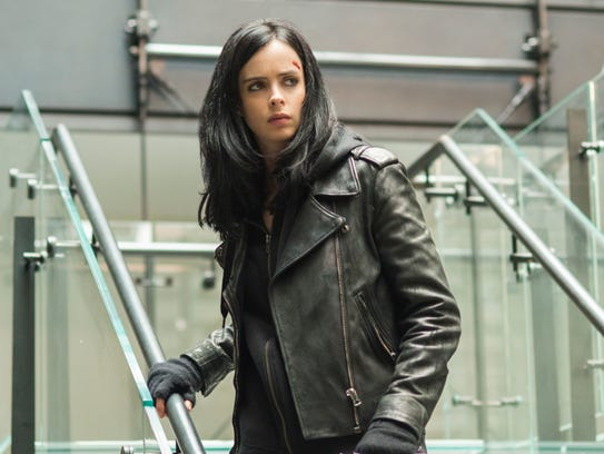 Krysten Ritter stars in the Netflix series 'Marvel's