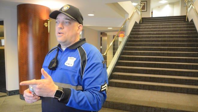 Cpl. Joe Wilder of the Battle Creek Police Department.