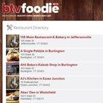 Btvfoodie.com Restaurant Directory