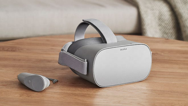 The Oculus Go, which ships next year for $199.