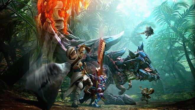 Monster Hunter Generations for 3DS.