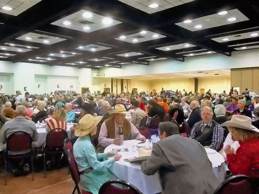 Between 1,100 and 1,200 people attended this year's 2015 Lincoln County National Day of Prayer at the Convention Center, Thursday.