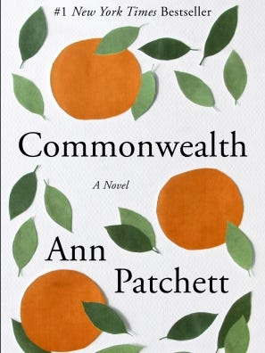 Ann Pachett's 'Commonwealth' is out now in paperback.