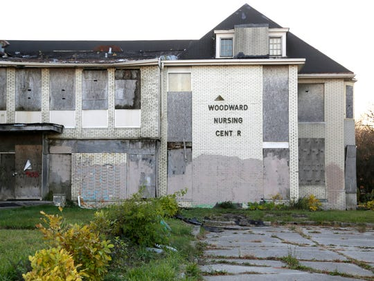 A blighted property sits at 9155 on the east side of