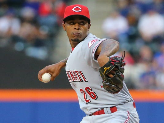 MLB: Cincinnati Reds at New York Mets