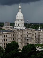 The Michigan Treasury Department said Friday the state's