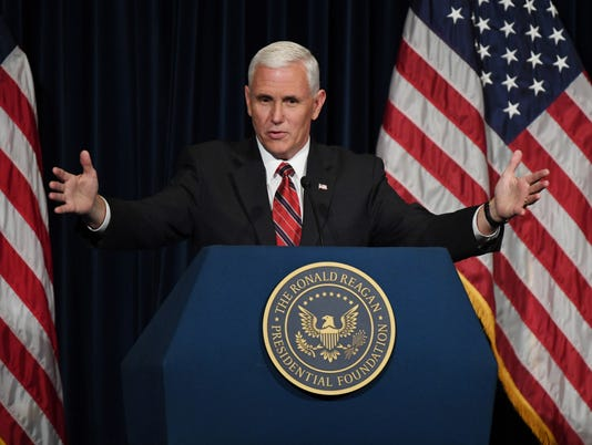 AFP Mike Pence U.S. Vice President Candidate