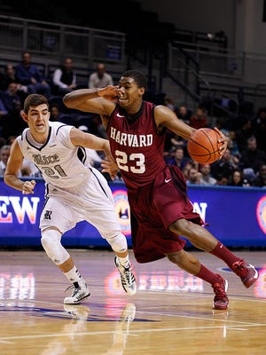 Harvard junior guard Wesley Saunders averages 14 points, 4.7 rebounds and 3.9 assists per game. He was the Ivy League's Player of the Year.
