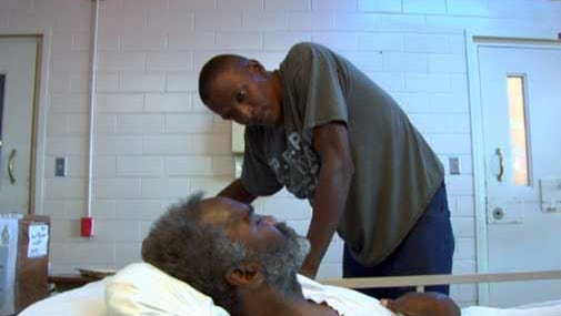Inmates volunteer their time to serve dying prisoners through a hospice program at Louisiana State Penitentiary.