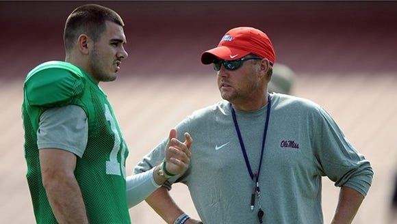 Ole Miss coach Hugh Freeze knows his quarterback,Chad