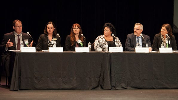 Some of Brevard's top leaders met at a symposium this week to discuss the issue of human trafficking here in Brevard County.