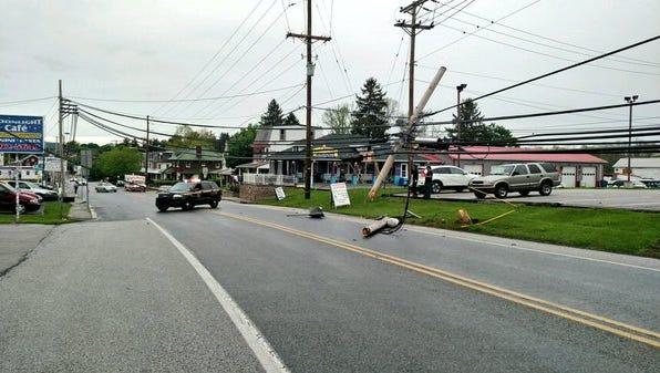 Police responded to a hit and run crash on Tuesday in Dover.