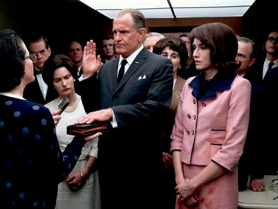 Woody Harrelson stars as President Lyndon B. Johnson