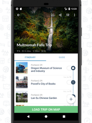 An essential app for road trips, this freebie shows
