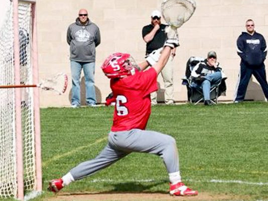 Susquehannock goalie Shane Silk was named the York-Adams League Boys' Lacrosse Defensive Player of the Year. He finished with a save percentage of 62 and finished with 196 saves.