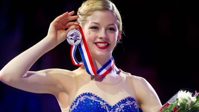 Gracie Gold, shown here  during the awards ceremony for the U.S. Figure Nationals, says she expects to be at the top of the American scene for a long time.