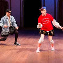 Madcap glee: Del. Theatre's 'Complete Works of Shakespeare'