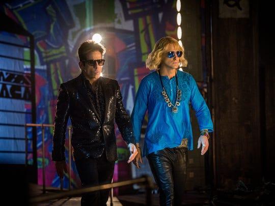 Derek (Ben Stiller, left) and Hansel (Owen Wilson) take Rome in 'Zoolander 2.'