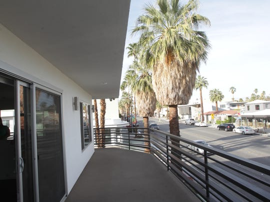 The Villa Soleil apartments on Palm Canyon have been remodeled. The previous tenants are now longer in the units and with the remodeling the apartments will have entire new tenants.