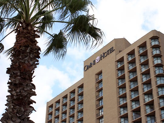 The Omni Corpus Christi Hotel, at 900 N. Shoreline Blvd., is one of many buildings Joe R. Fulton built in Corpus Christi. The longtime contractor and engineer died Thursday morning.