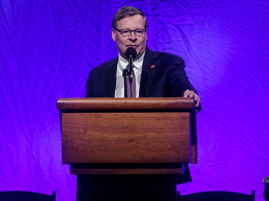 Ed Breen announced DuPont will spend $200 million to upgrade the Experimental Station. He made the announcement at the 180th Annual Delaware State Chamber of Commerce Dinner.