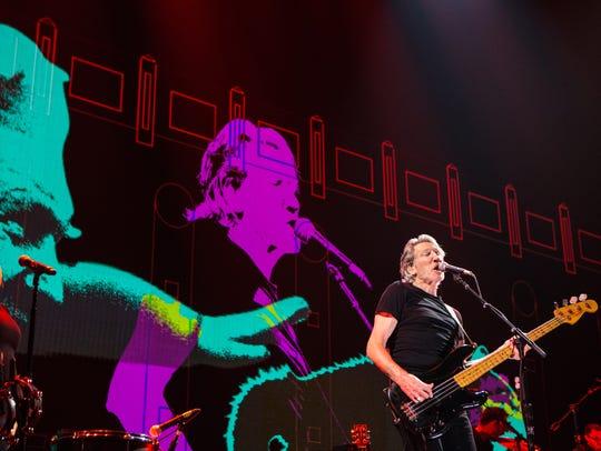 Roger Waters at Desert Trip in 2016.