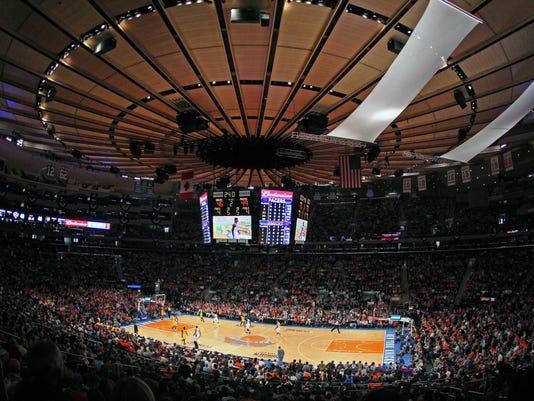 USP NBA: PLAYOFFS-INDIANA PACERS AT NEW YORK KNICK S BKN USA NY