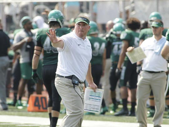 'Windsor graduate Jason Houghtaling is in his third season as Wagner College's head coach.