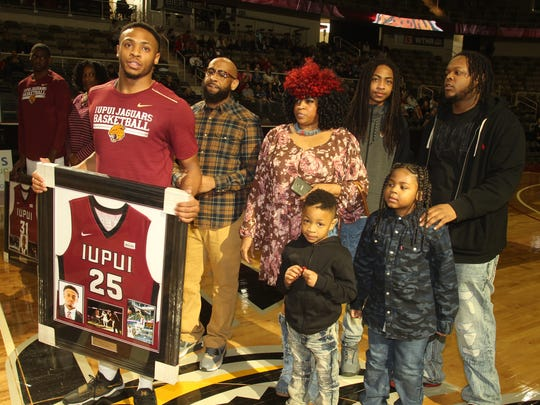 Ron Patterson finished his playing career at IUPUI