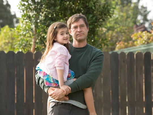 Abby Ryder Fortson and Mark Duplass in the HBO series