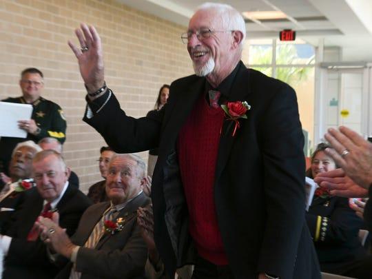 Former Merritt Island High principal Gary Shiffrin