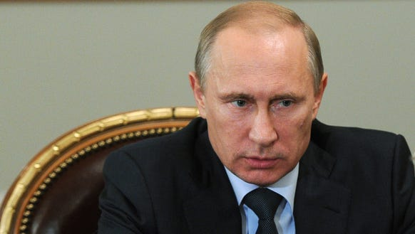 Russian President Vladimir Putin in July 2014.