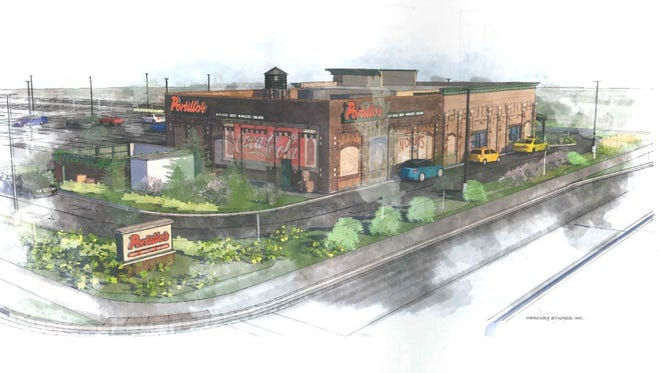 The restaurant chain Portillo's has submitted plans to Greenfield officials for a location at  8705 W. Sura Lane.