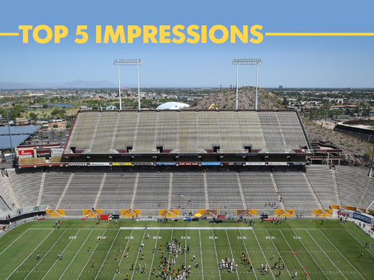 ASU Top 5 impressions