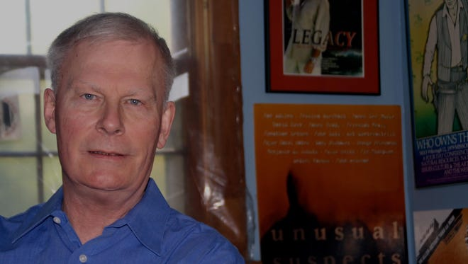 """James Grady, a Shelby native, has written for four decades about Washington, D.C., espionage, has written a new book, """"Last Days of the Condor."""""""