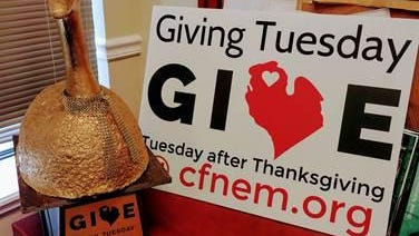 The Tuesday after Thanksgiving is typically known as Giving Tuesday, where people are given the opportunity to give back to their communities. Contributed photo