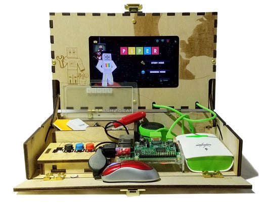The Piper build-it-yourself DIY computer kit is for