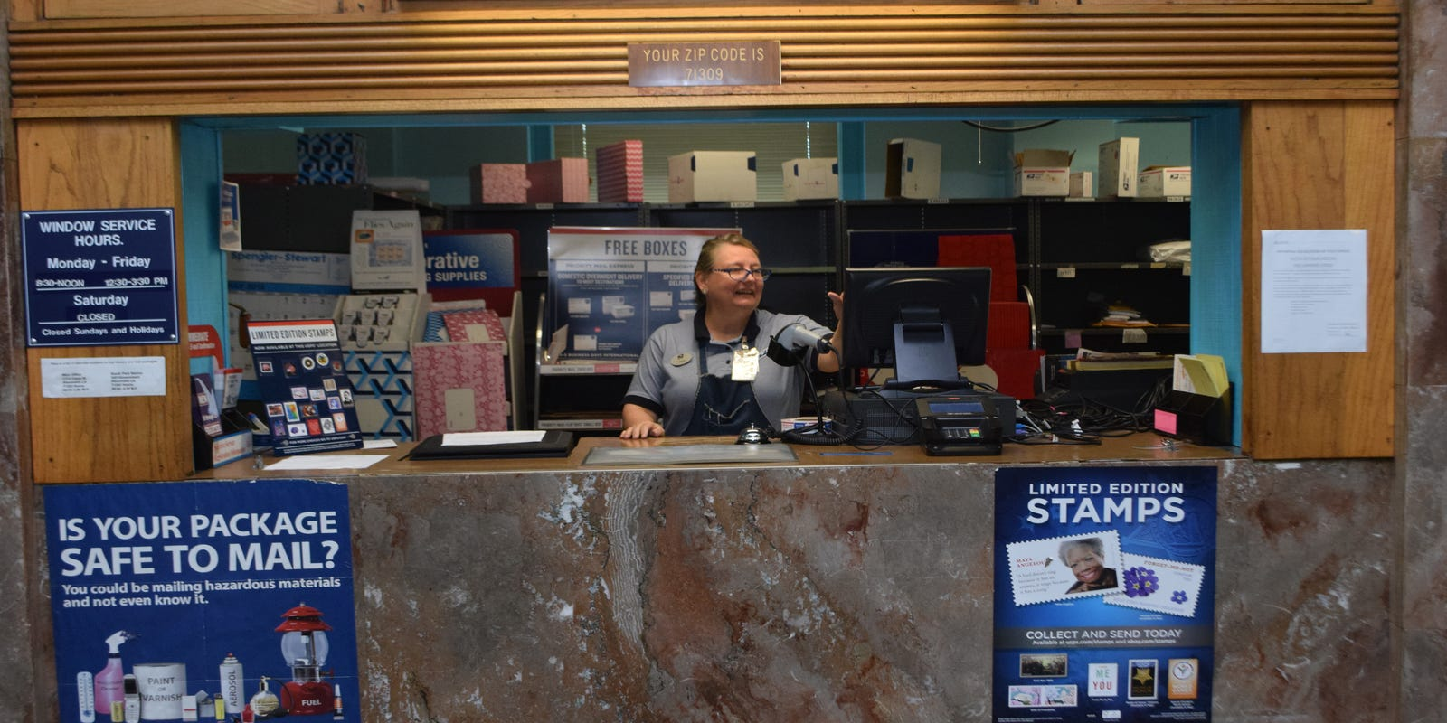 Downtown Alexandria Post Office Closing