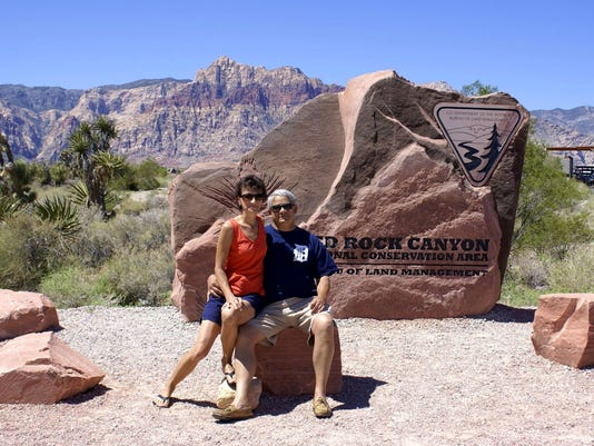 DFP travel with the D to Red Rock Canyon