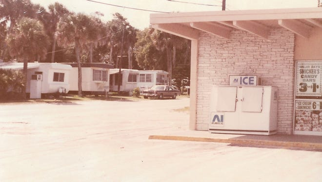 1983 photo of the trailer park where Helen Nardi lived and was ultimately killed